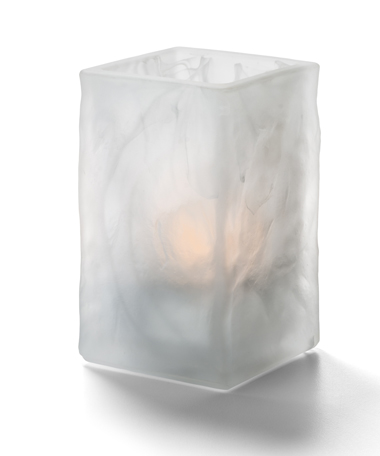 Glacier™  Votive (Satin Crystal Wysp™ )