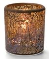 View details for Gold Crackle™ Glass Votive Lamp