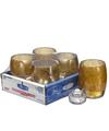 View details for Antique Gold Contour™ Votive Lamp Shelf Pack w/HD12 - 4/Pack