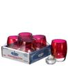 View details for Ruby Lustre Contour™ Glass Votive Lamp Shelf Pack w/HD12- 4/Pack