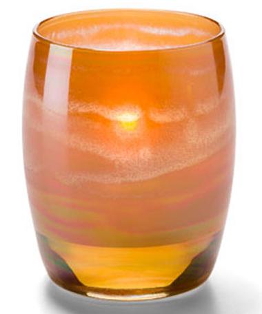 Amber Art Contour™ Votive Lamp