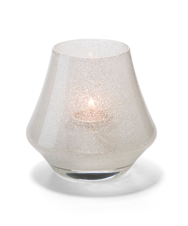 CLEAR JEWEL CHIME GLASS VOTIVE LAMP