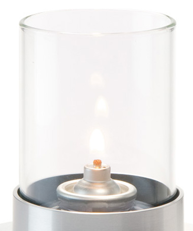 78C Clear Small Cylinder Glass Globe