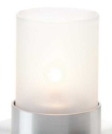 78SC Satin Crystal Small Cylinder Glass Globe
