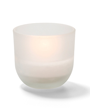 5 HR Caterlite Disposable Candle in Frosted Glass  - 48/CS
