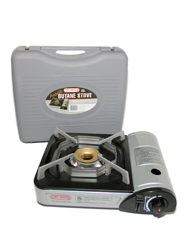 10,000 BTU Butane Stove w/Carrying Case