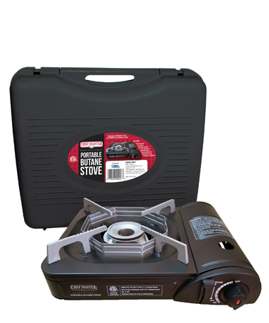 9,000 BTU Butane Stove w/Carrying Case