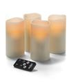 View details for  LED Wax Pillar with Remote, Ivory 3