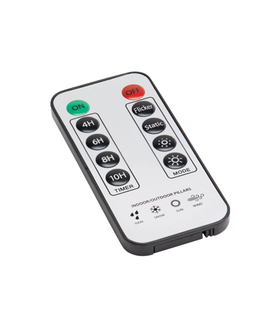 REPLACEMENT REMOTE FOR INDOOR/OUTDOOR TRUFLAME PILLARS