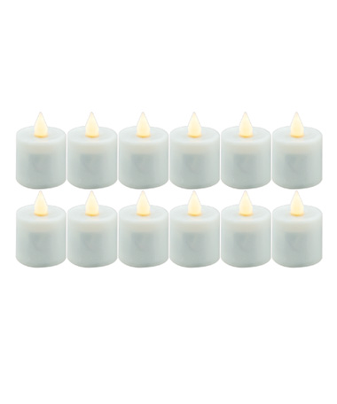 Warm White Platinum Replacement Candle