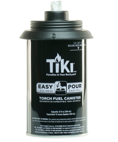 Metal Torch Replacement Canister 12 oz