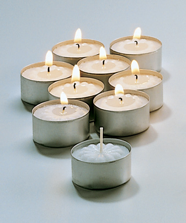 5 HR Tealight Wax Candles - 500/CS
