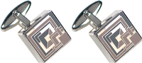 Brick Design Cufflinks