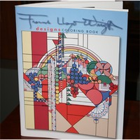 FLW Designs Coloring Book