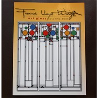 FLW Glass Designs Coloring Book