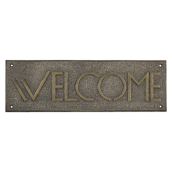 Exhibition Font Welcome Sign
