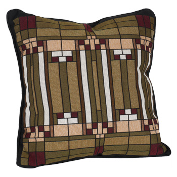 Frank Lloyd Wright Oak Park Skylight Pillow