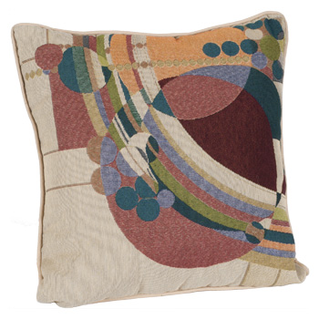 Frank Lloyd Wright March Balloons Pillow