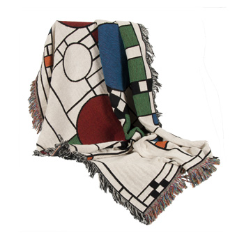 Frank Lloyd Wright Avery Coonley Playhouse Throw