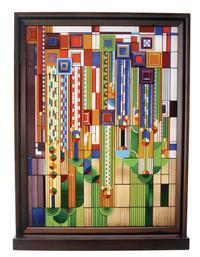 Saguaro Forms Glass Panel