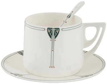 Dard Hunter Cup - Saucer - Spoon