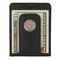 Buffalo Nickel Wallet Black