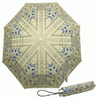 FLW Umbrella - Waterlilies