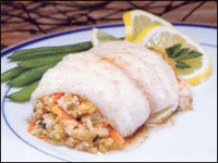 Fishery Products: Rolled Tilapia With Shrimp: